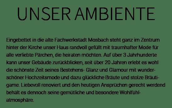 Brautmodengeschäft in 74235 Erlenbach