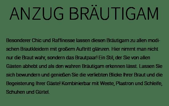 Hochzeitsanzug aus  Lützelbach